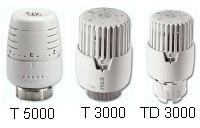 Termostatická kapalinová hlavice IVAR.T 5000, IVAR.T 3000, IVAR.TD 3000