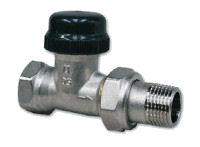 Termostatický ventil přímý dvouregulační - s přednastavením IVAR.VD 2101 N