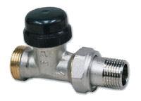 Termostatický ventil přímý dvouregulační - s přednastavením IVAR.VD 2103 N, IVAR.VD 2105 N