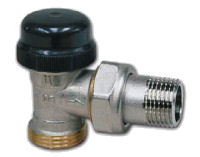 Termostatický ventil rohový dvouregulační IVAR.VS 2104 N, IVAR.VS 2106 N